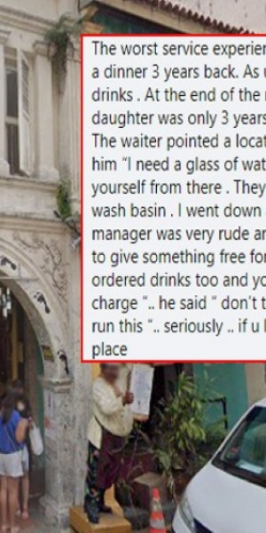 Restaurant's reply to 3-year-old negative review triggers mixed reactions