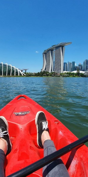 I kayaked around Marina Bay and got a history lesson at the same time