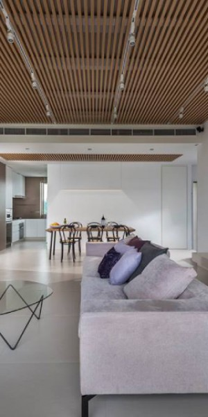 10 spaces in Singapore that use slatted wood in style