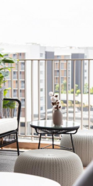 10 Singapore homes that show how useful a balcony can be