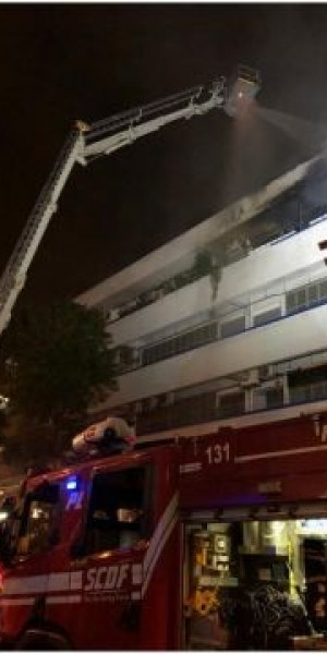 Fire raged for 3 hours at Bukit Batok warehouse units storing PMDs, electrical items