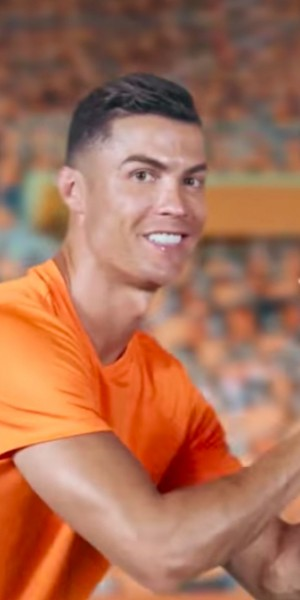 Football fans raise eyebrows over Cristiano Ronaldo's dance moves in new Shopee ad
