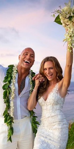 Dwayne 'The Rock' Johnson weds in secret ceremony
