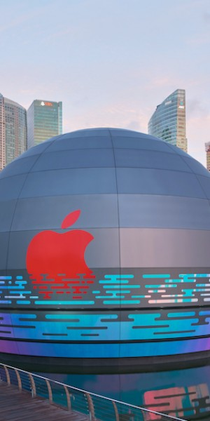 World's first floating Apple Store to open at Marina Bay Sands 'soon'