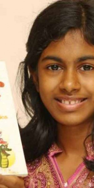 Malaysian tween writer sets out to help Nepalese kids