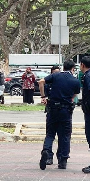 Couple nabbed over airsoft gun on East Coast Park Service Road