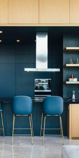Bold and beautiful: 9 blue kitchens in Singapore