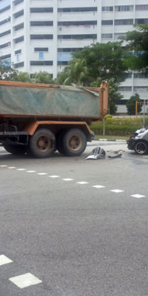Another accident at same junction