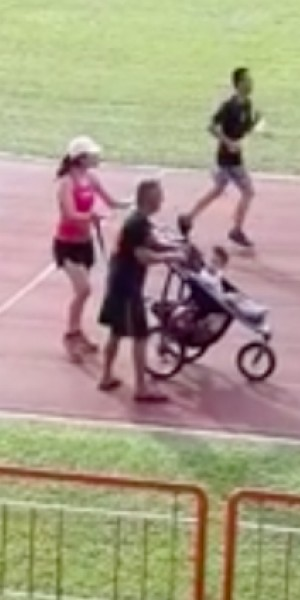 No strollers on stadium track? Sport Singapore explains