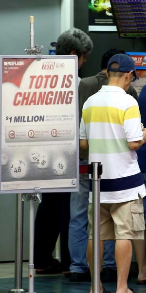 What happens if you find a winning TOTO ticket?