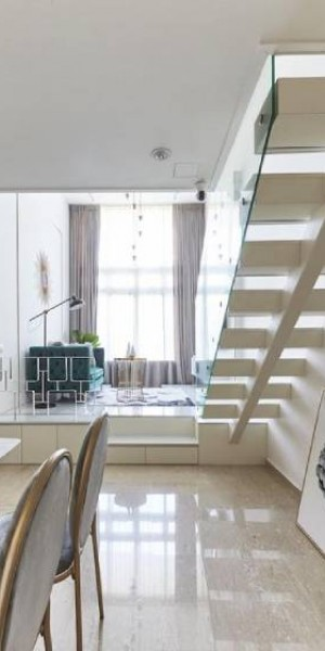 House tour: A modern luxe apartment with a 4.27m-high ceiling at Faber Walk