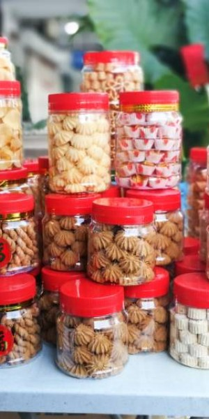 How long can Chinese New Year cookies be kept?