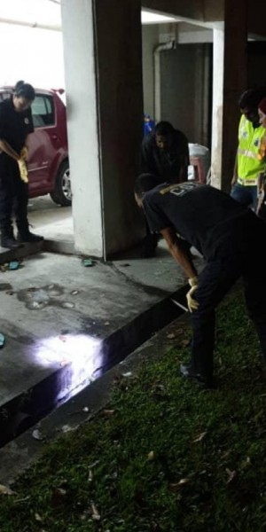 Girl, 3, falls to her death after being left alone at Selangor home