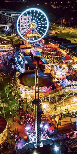 Malaysia's largest carnival, popcorn festival & other things to do in JB this CNY long weekend