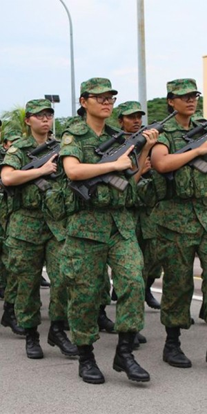 Army women who survived Tekong share how they handled their period in the jungle