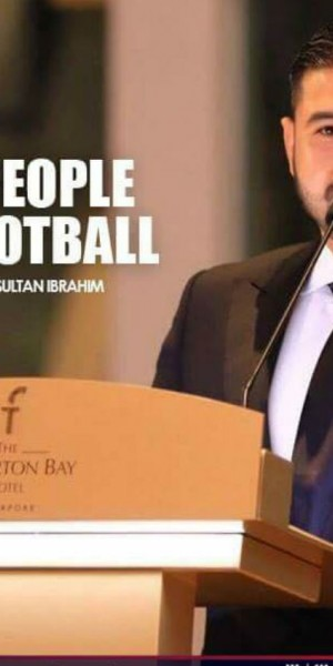 Johor crown prince launches 'educate people through football' project