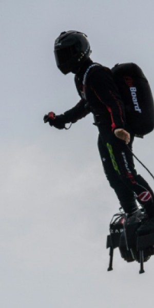 Flying Frenchman to attempt pioneering Channel 'flyboard' crossing