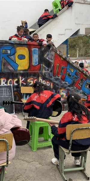 'Real life School of Rock' video goes viral in China