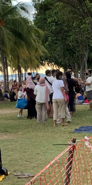 'Extremely crowded' beaches raise concerns of complacency; enforcement to step up, says Masagos