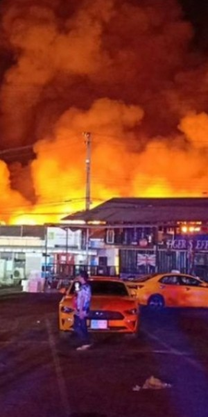 Fire breaks out at Bangkok's Ying Charoen Market