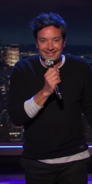 Jimmy Fallon returns to a bit like TV's normal