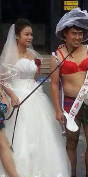 Rowdy and risque wedding pranks turn ugly in China