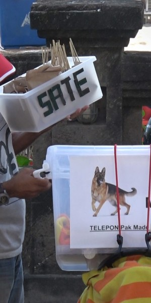 Eating satay in Bali? It could be made with dog meat