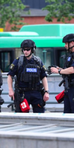 Swedish police shoot man at Malmo central station after bomb threat