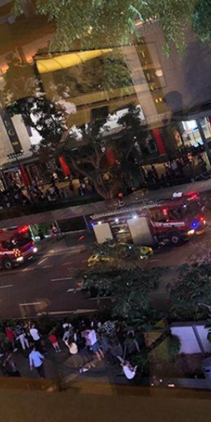 Fire breaks out at Tang Plaza; 200 people evacuated, no reported injuries