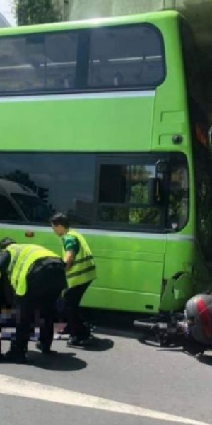 Motorcyclist dies after accident involving Tower Transit bus in Jurong