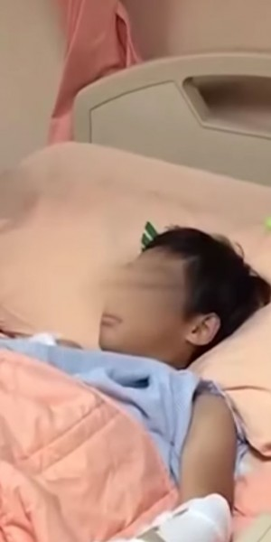 Boy in Taiwan has nerves severed after toilet sink breaks