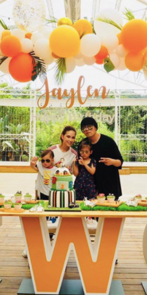 Jay Chou shares dating tips with son who's just turned two