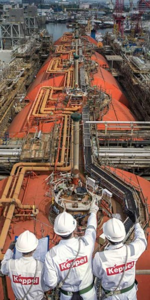 Keppel 'well poised to be front runner in gas market'