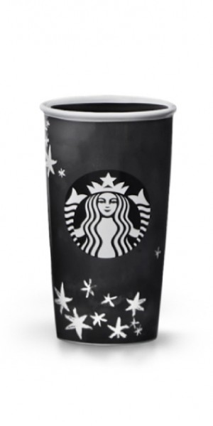 OMG, Vera Wang has a collaborative collection with Starbucks