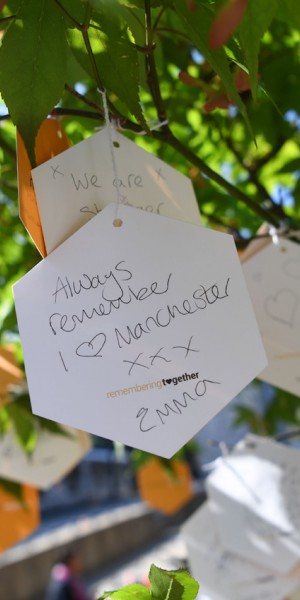 Manchester bombing victims remembered on first anniversary
