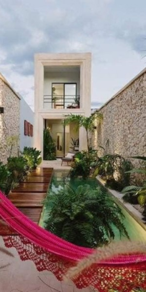 House tour: Home in Brazil built on land that measures only 4m in width