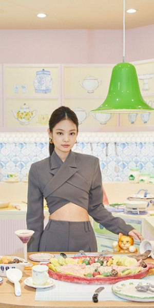 Jennie's Jentle Home pop-up in Seoul looks gorgeous