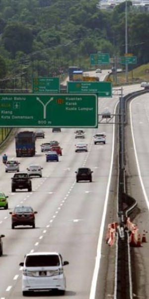 First day of interstate travel in Malaysia: No congestion reported on major highways