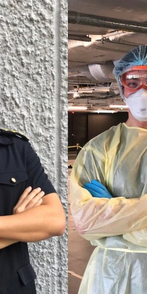 SCDF doctor shares insight from frontline of pandemic; internet thirsts for him instead
