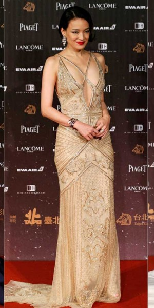 Female stars turn heads at the Golden Horse Awards