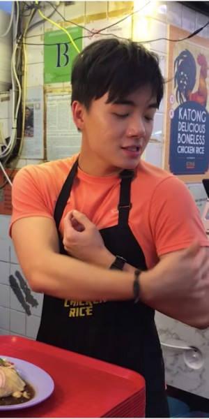 Katong chicken rice hawker hunk is Tiktok's newest obsession