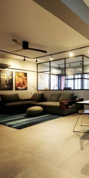 House tour: A sleek 5-room HDB flat with futuristic elements in Redhill