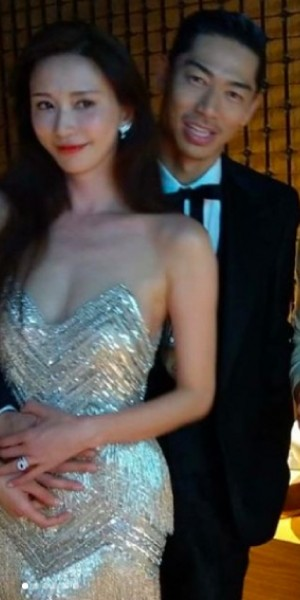 Lin Chi-ling goes wild at wedding afterparty, tries to strip Akira