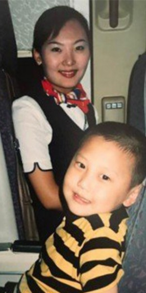 Chinese man reunites with air stewardess he met 15 years ago, but as her colleague