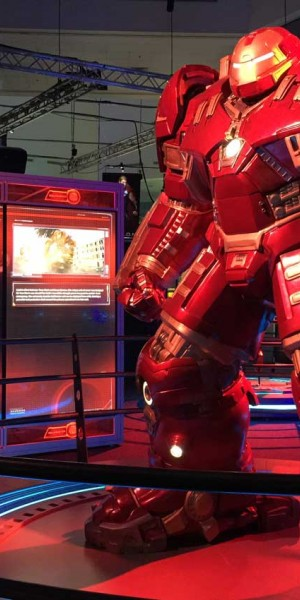 Geek out and learn science at the same time at the Avengers exhibition