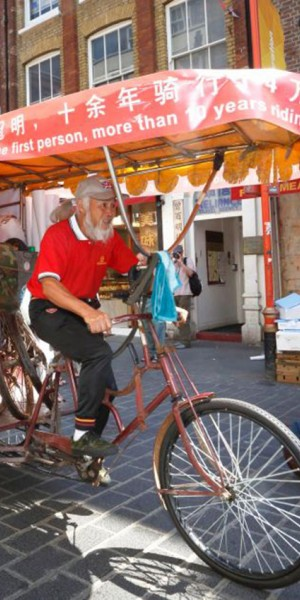 Chinese retiree who travelled on rickshaw to 3 Olympics dies
