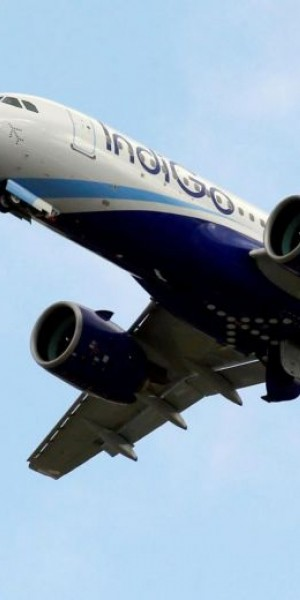 IndiGo flight makes emergency landing after 'technical glitch'; Indian minister says engine on fire