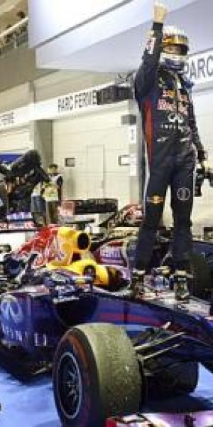 Vettel storms to 3rd S'pore GP victory