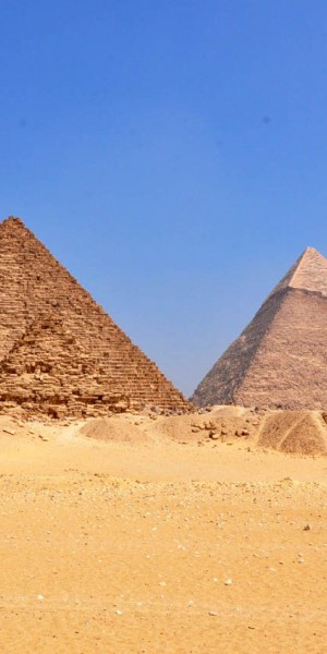Hollywood's dead wrong about pyramids