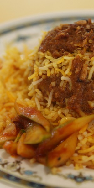 Man in India downs 1kg of briyani in 10 minutes